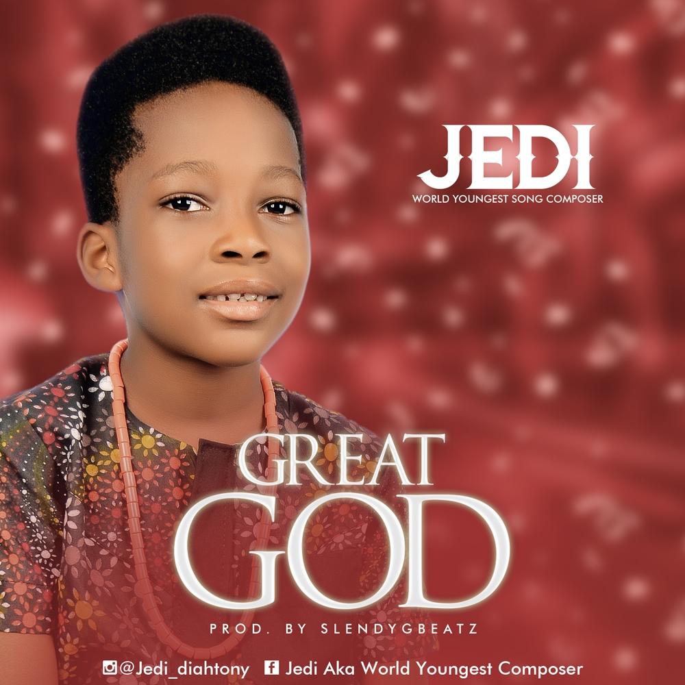 Lyrics Video: GREAT GOD - Jedi (Jedidiah Tony)