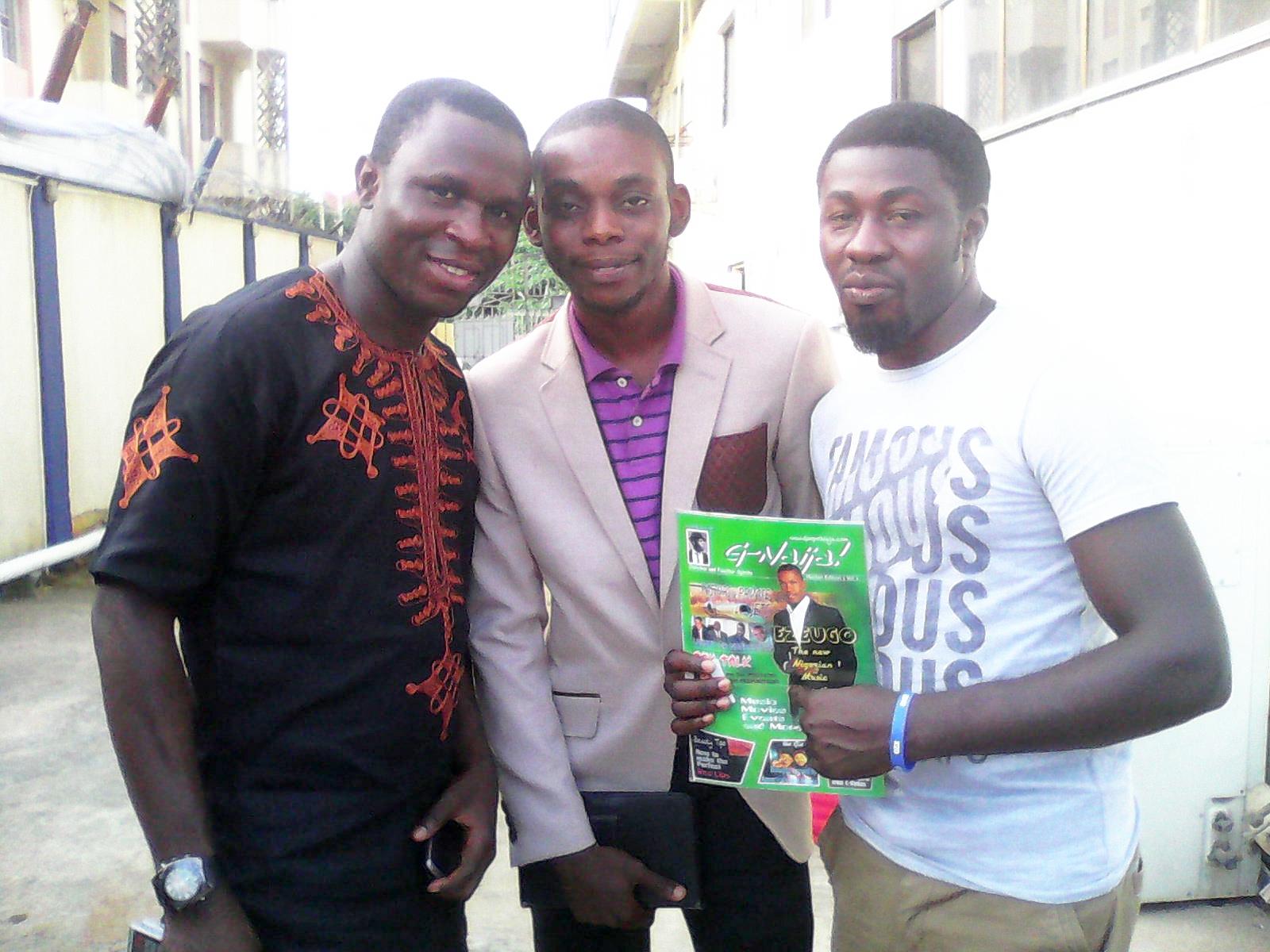 Sunny Mr. Possible (CEO @9jaGospelBeatz), Oyez! [@OYEZe] and Ochi (@yungod @Christ_Rydaz)