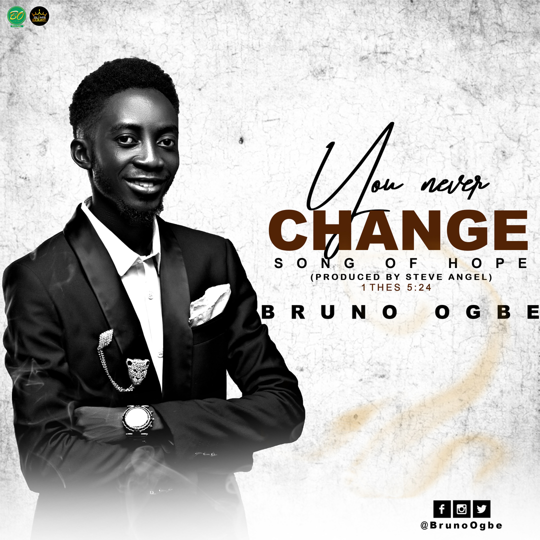 YOU NEVER CHANGE - Bruno Ogbe   [@BrunoOgbe]