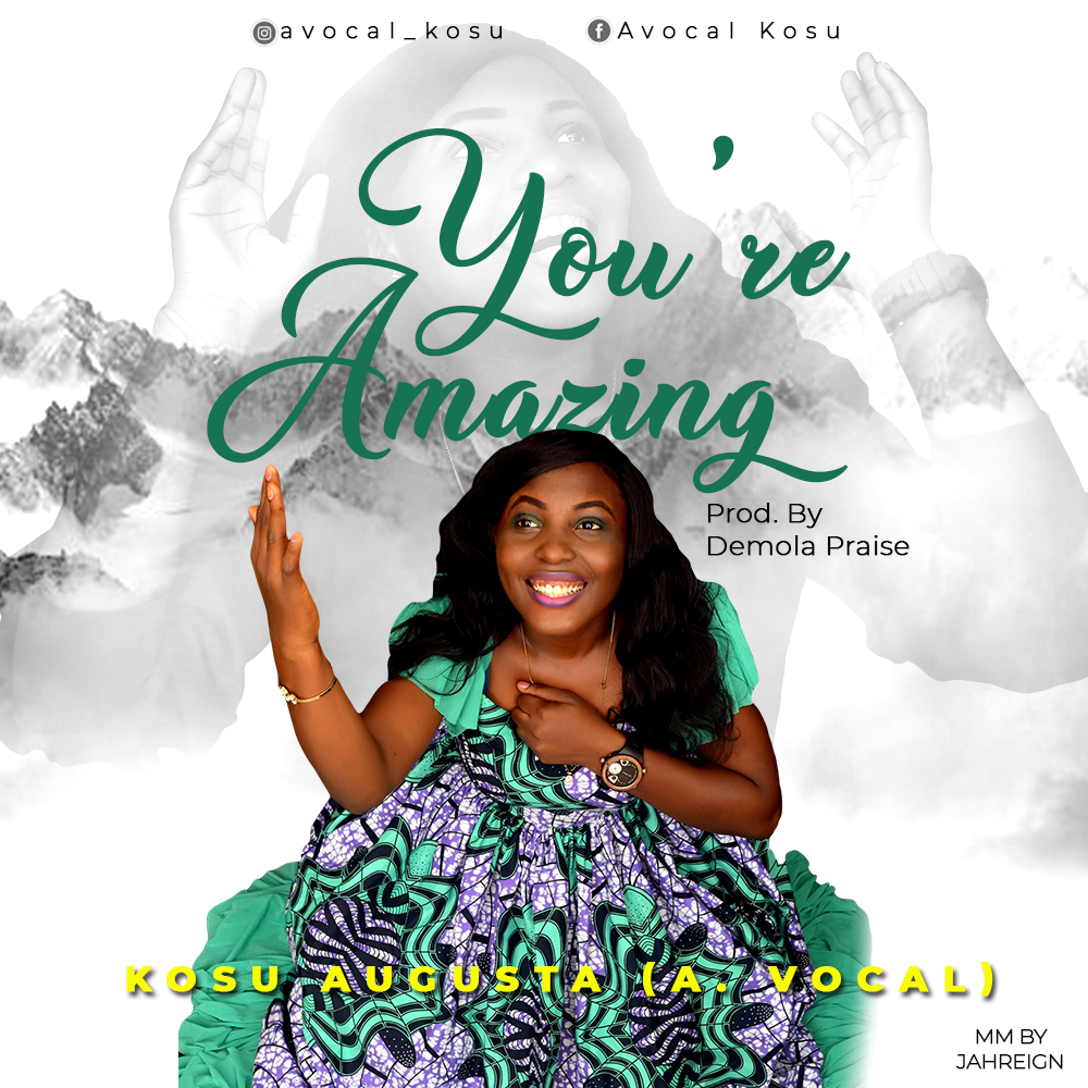 YOU'RE AMAZING - A.Vocal