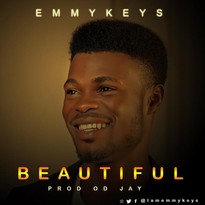 (Lyrics Video) BEAUTIFUL - Emmykeys