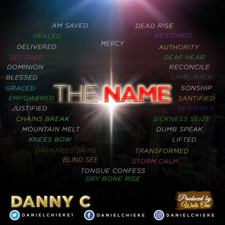 THE NAME - DannyC [@danielchieke1]