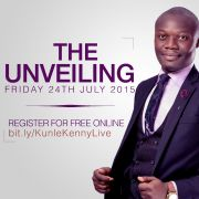 """""""THE UNVEILING"""" - Kunle Kenny Live in Concert."""