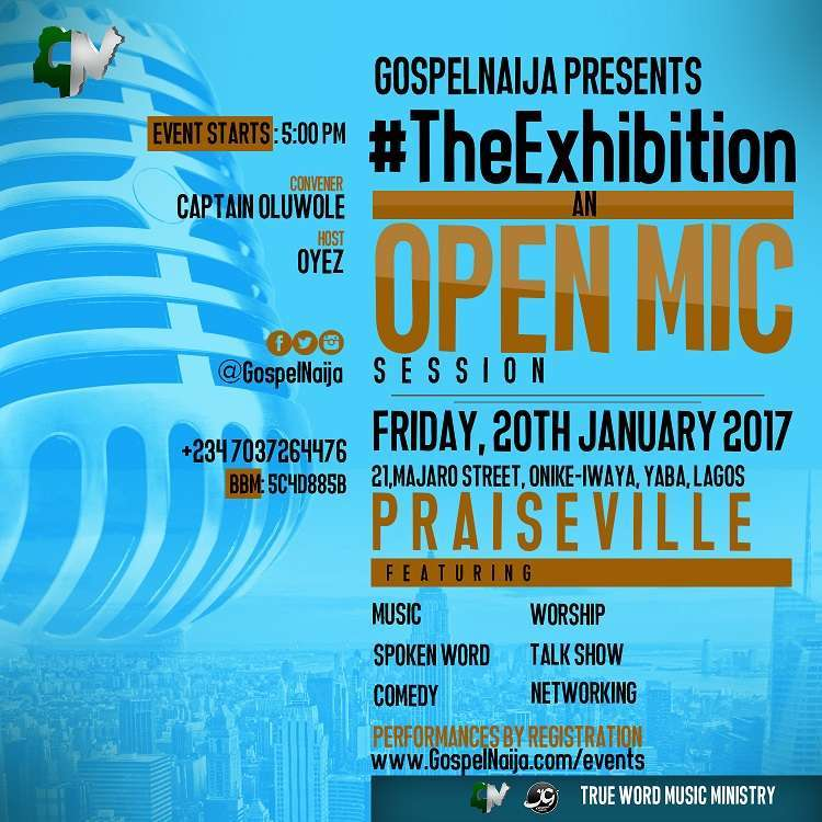 Open Mic Sessions January 2017 Large