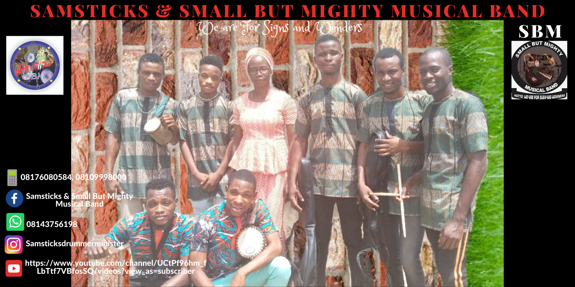 MEGA PRAISE 2020 - Small But Mighty Musical Band (SBM)