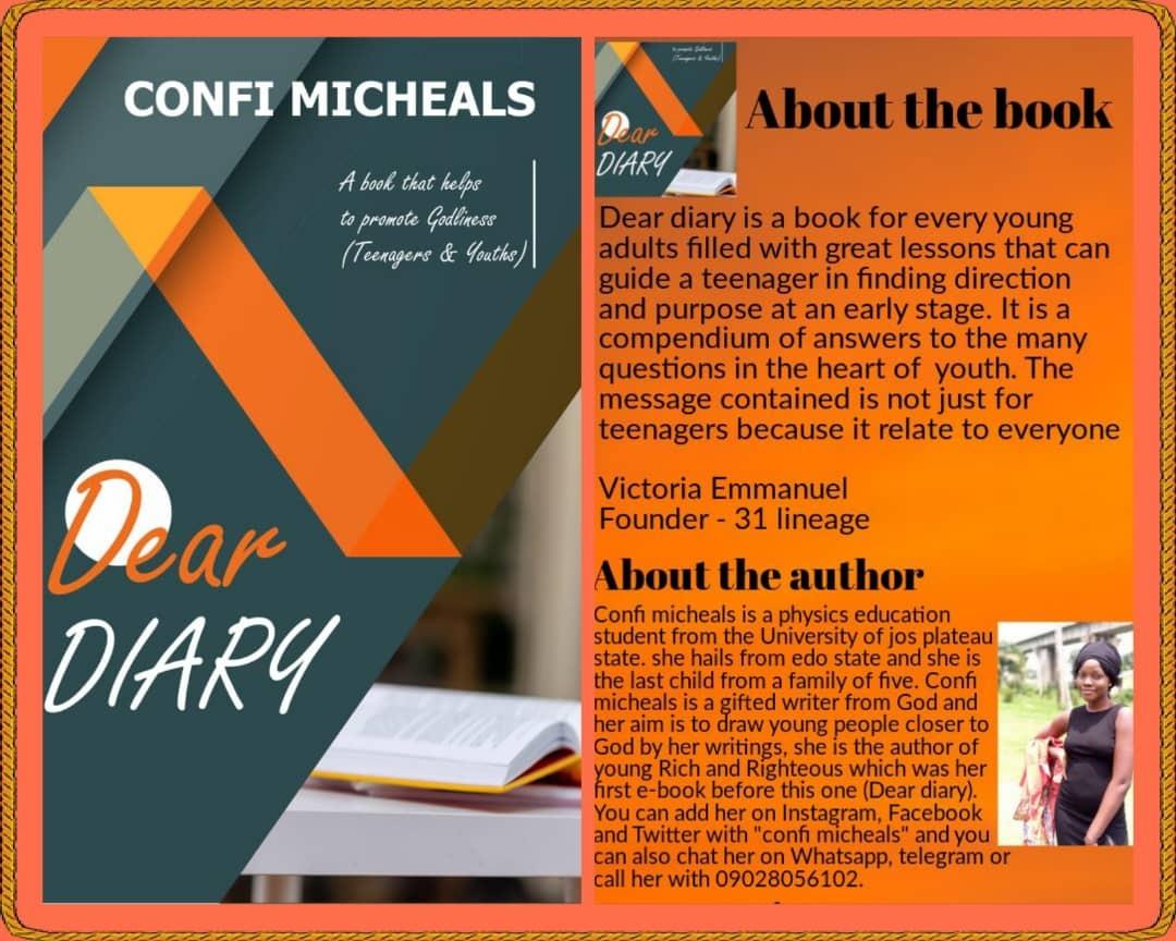 DEAR DIARY - Confi Michaels