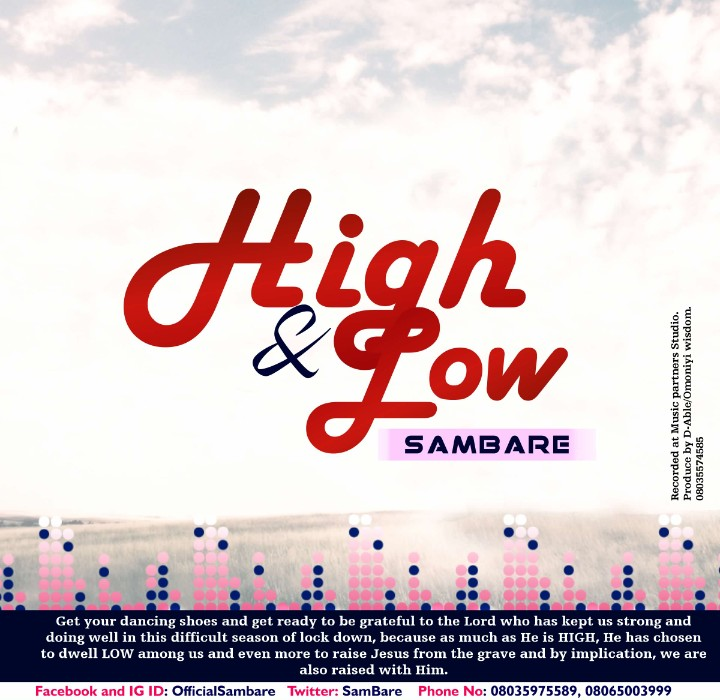 HIGH AND LOW - Sam Bare