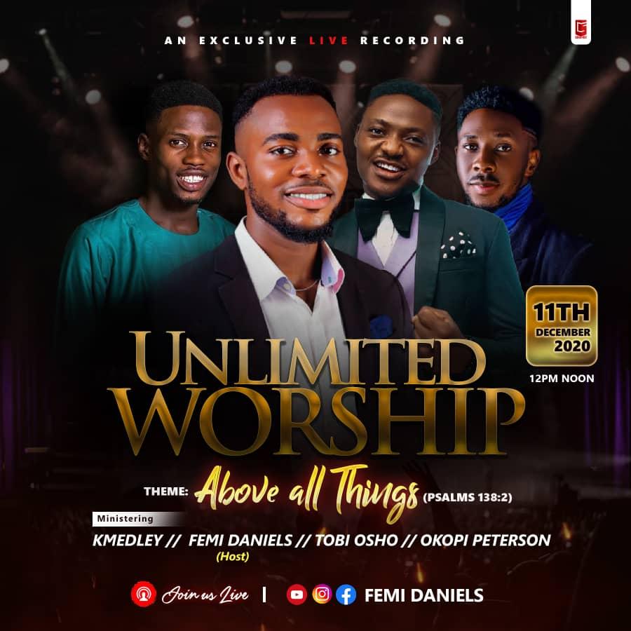 UNLIMITED WORSHIP - Tobi Osho
