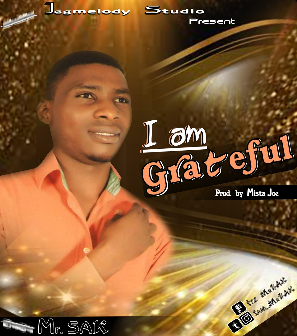 I AM GRATEFUL - Mr SAK