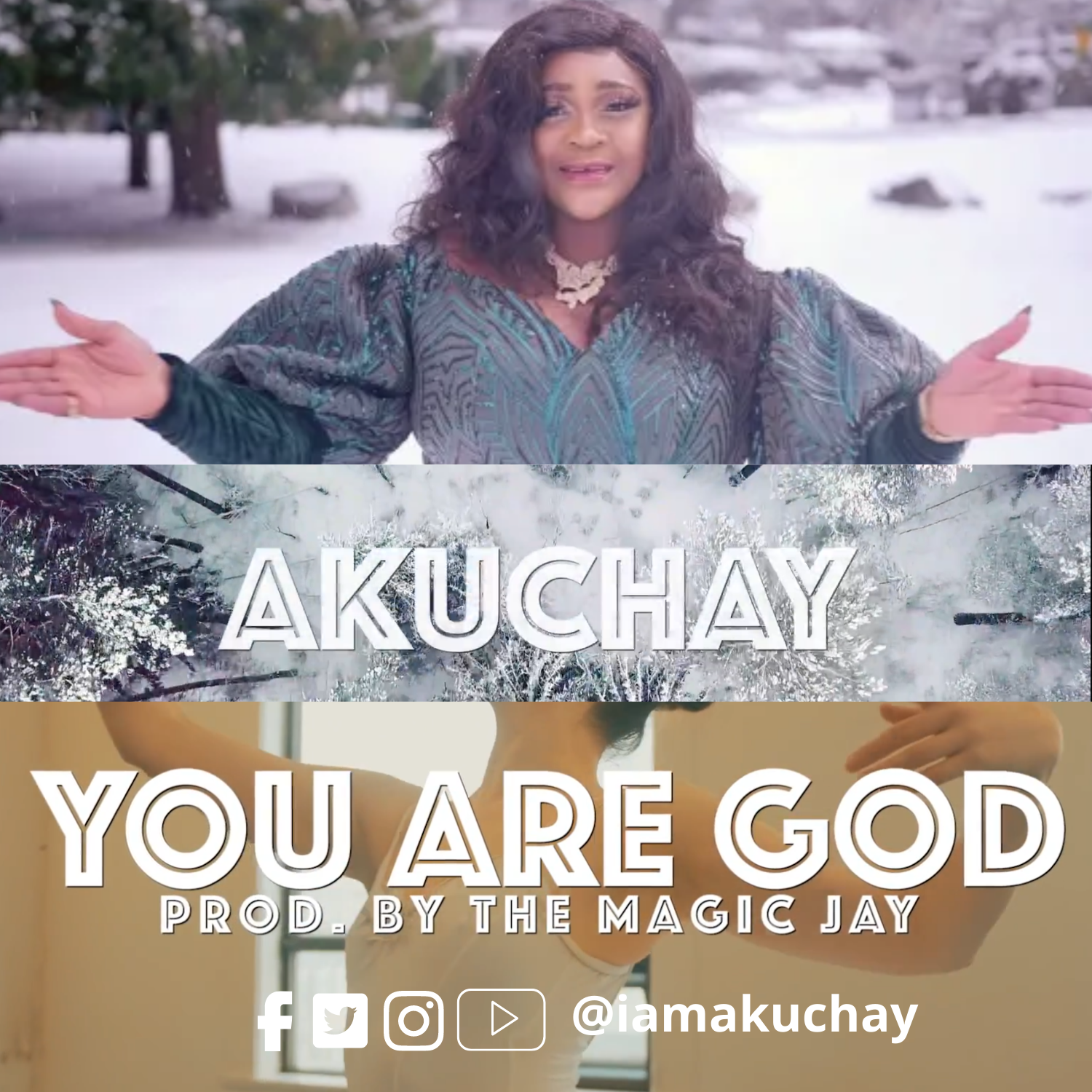 (Official Music Video) YOU ARE GOD - Akuchay  [@iamakuchay]