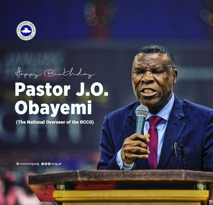 HAPPY BIRTHDAY PASTOR J.O.OBAYEMI