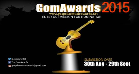 SUBMISSION OF ENTRIES for 3rd Annual GOSPELITE MUSIC AWARDS